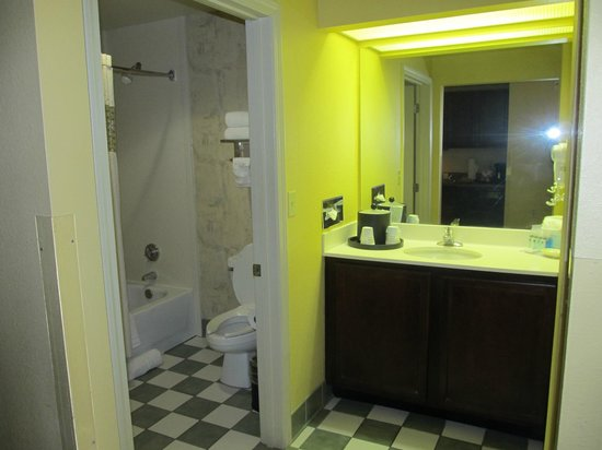 Hampton Inn & Suites New Orleans Convention Center: Bathroom