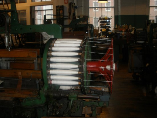 Lowell National Historical Park: Loom