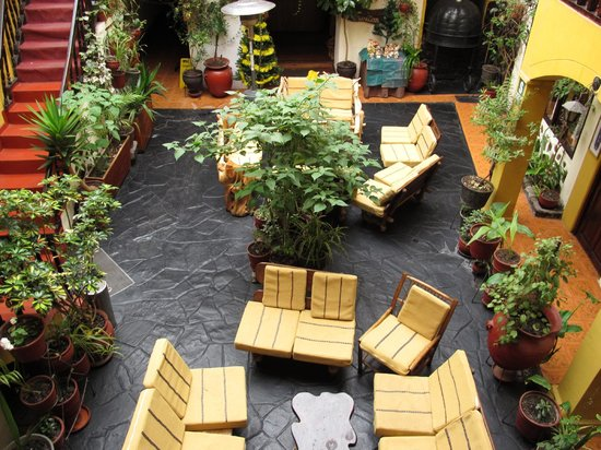 Hostal Cusi Wasi: Courtyard/lobby of Cusi Wasi