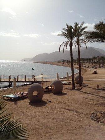 Le Meridien Dahab Resort: praia