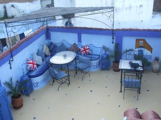 Riad Baraka: terraza