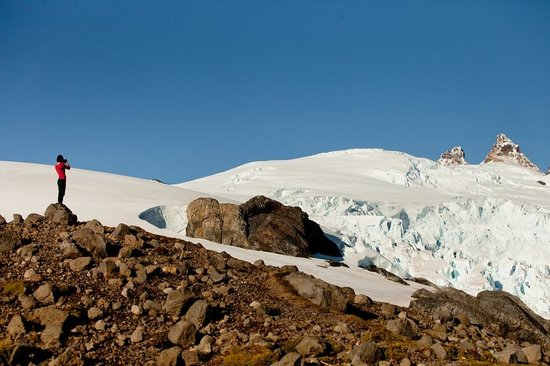 Patagonia Sur Reserves - Melimoyu: Helicopter tour to the Mt. Melimoyu glacier