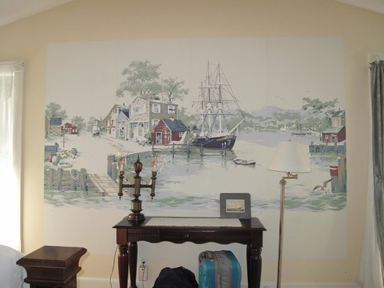 Harpswell Inn: Picture on the wall
