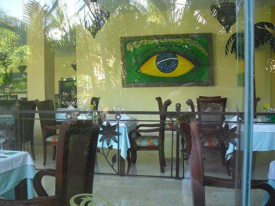 TRS Turquesa Hotel: restaurante rodizio