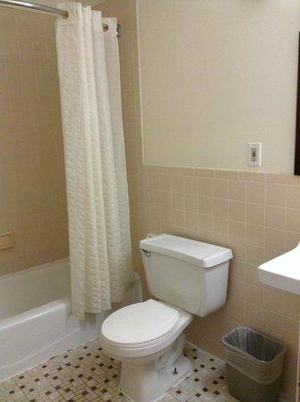 Americana Inn: restroom
