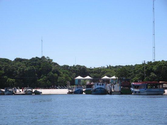 Chegada a Ilha do Mel