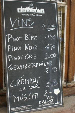 Route des vins d'Alsace: los vinos