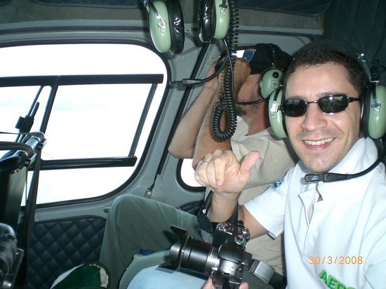Helisul Táxi Aéreo Voos Panorâmicos : Felizão da vida