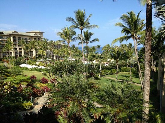 The Ritz-Carlton, Kapalua: View near lobby