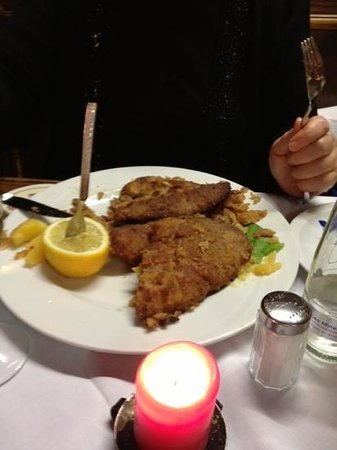 Fraundorfer : One of the schnitzels