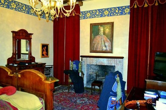 Palazzo Priuli: our room in the main palazzo building