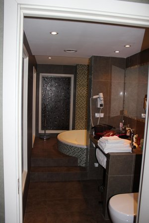 Wawel Hotel: Lovely bathroom with round bathtub