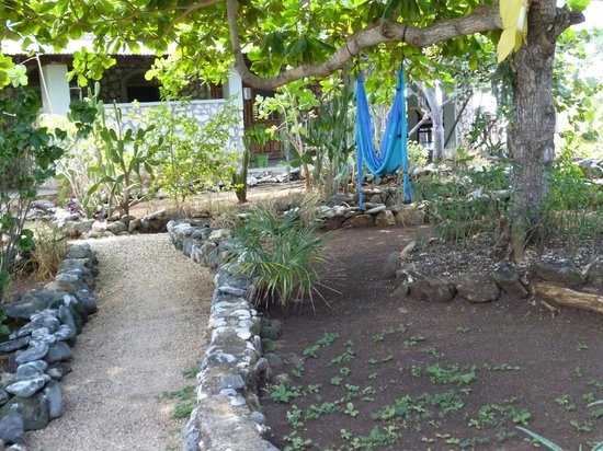 Jackie's on the Reef: Landscaped paths