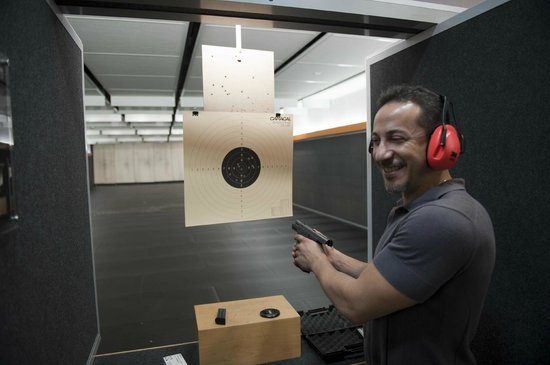 Caracal Shooting Club: Great atmosphere