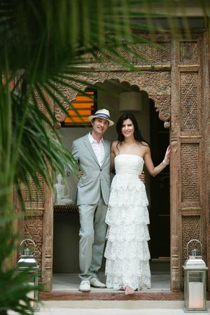 Hotel Jashita: Photo credit to our amazing wedding photographer: Bonnie Beth Burke Photography