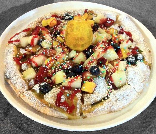 Ristorante - Pizzeria La Veranda: Pizza alla Frutta