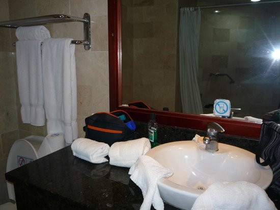 Grand Paradise Samana: Clean bathroom