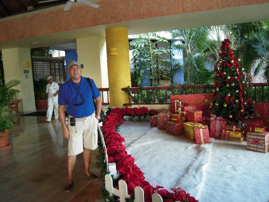 Luxury Bahia Principe Akumal Don Pablo Collection: preparativos de papa noel