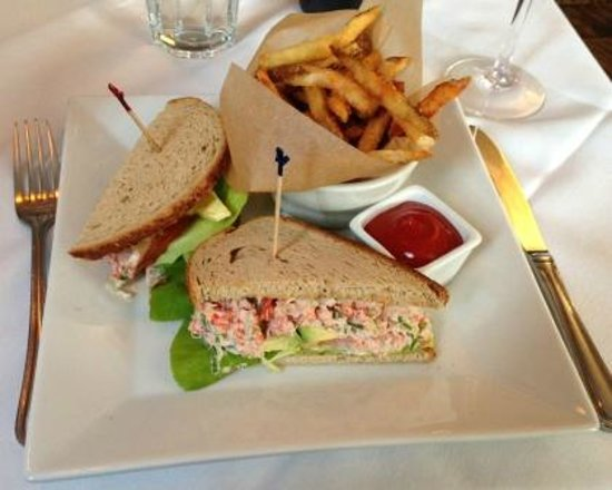 Page at 63 Main: Lobster sandwich