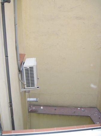 Hostal Oporto: Vista dalla finestra