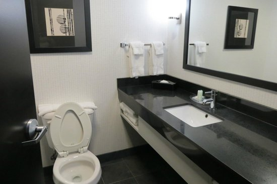 Comfort Suites Bypass: Bathroom