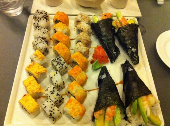 Azul Beach Resort The Fives Playa Del Carmen: Sushi...YUM!