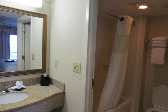 Hampton Inn & Suites Outer Banks / Corolla: Bathroom