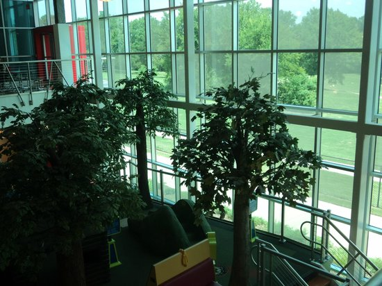 Mississippi Children's Museum: From second floor to first