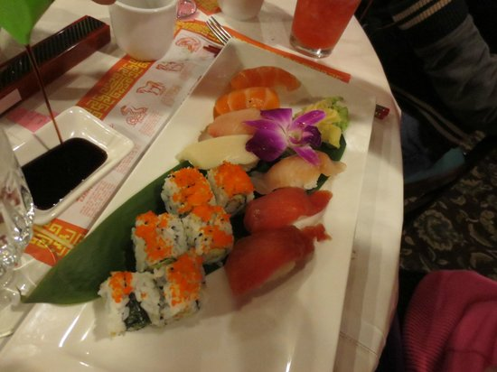 Ginger Garden:                   Always great sushi