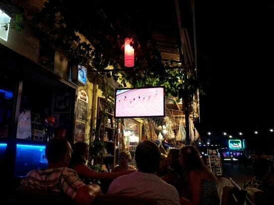 The Olympics at Mustang bar!