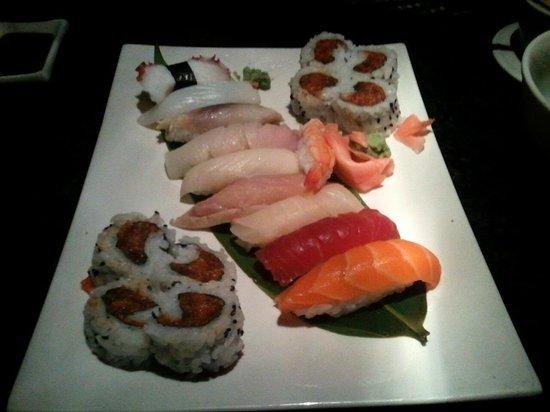 Shanghai Bistro: Nami sushi platter. $20