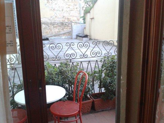 Galileo Hotel: Le balcon