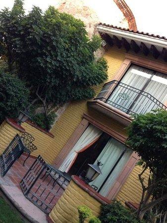 Gran Hotel Hacienda De La Noria: la habitación