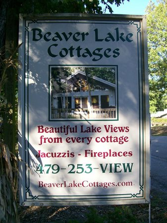 Beaver Lake Cottages: Remember the Name