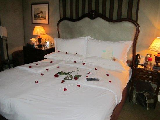 Egerton House Hotel: honeymoon surprise