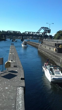 Hiram M. Chittenden Locks: Small Vessel Passage
