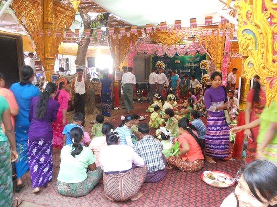 Amarapura, Myanmar: Inauguration Celebration