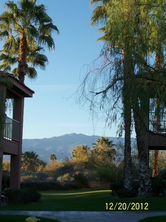 Residence Inn Palm Desert: View from the balcony