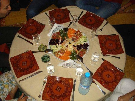 Safi Surf Camp: Home made salad