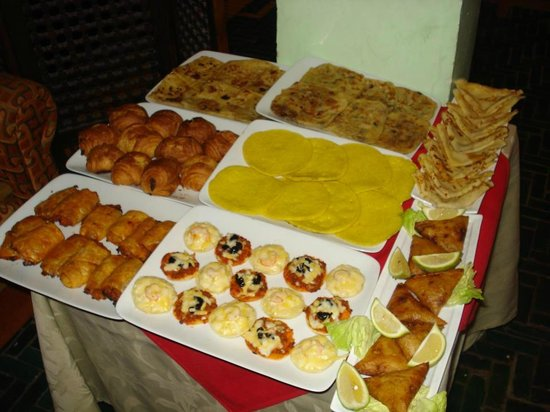 Safi Surf Camp: home made food