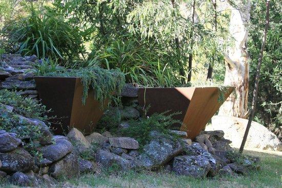 Bimblegumbie: Gardens at the front of the studio