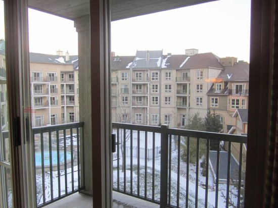 Seasons at Blue - Blue Mountain Resort : View from the room - 3rd floor
