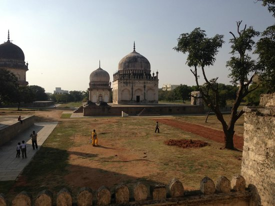 Qutb Shahi Tombs: another one of the Tombs