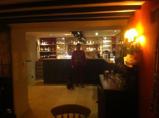The Slaughters Country Inn: christmas 2012