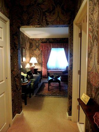 Carnegie Inn & Spa: Hallway