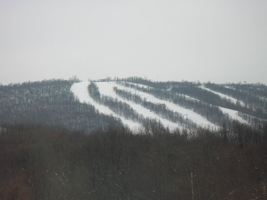 Whitetail Mountain Resort: Whitetail from my friends house