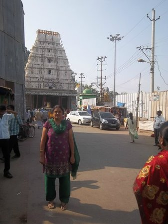 Sri Kalahasteeswara Swami Temple: A view from Outside