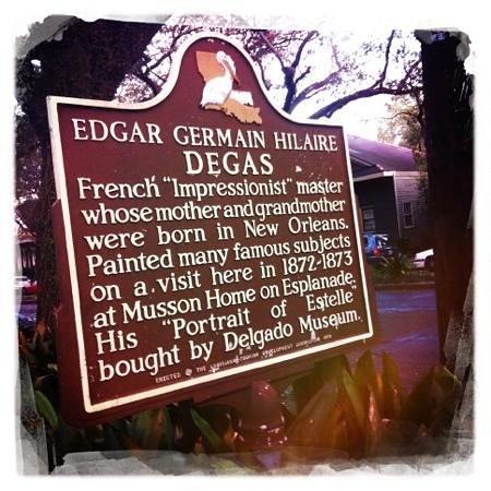 Edgar Degas House Historic Home and Museum: Degas house
