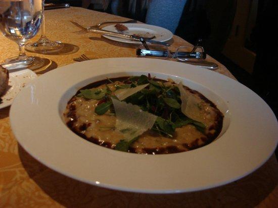 Auberge du Soleil Restaurant: Risotto