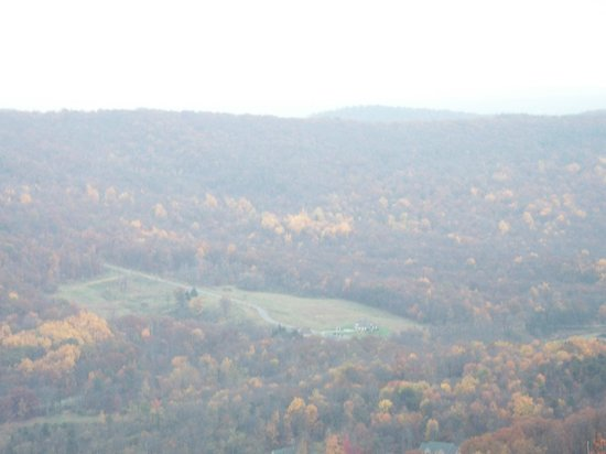Whitetail Mountain Resort: more of the view at the fall festival